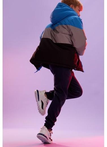 DeFacto Erkek Çocuk İçi Polar Kumaş Mont Mavi